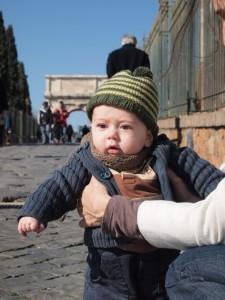 A Rome avec bébé !