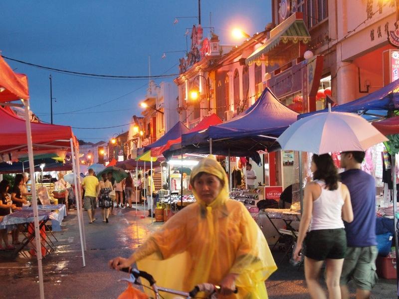 marché de nuit Malacca