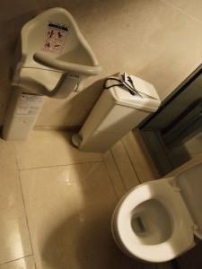 chaise haute toilettes