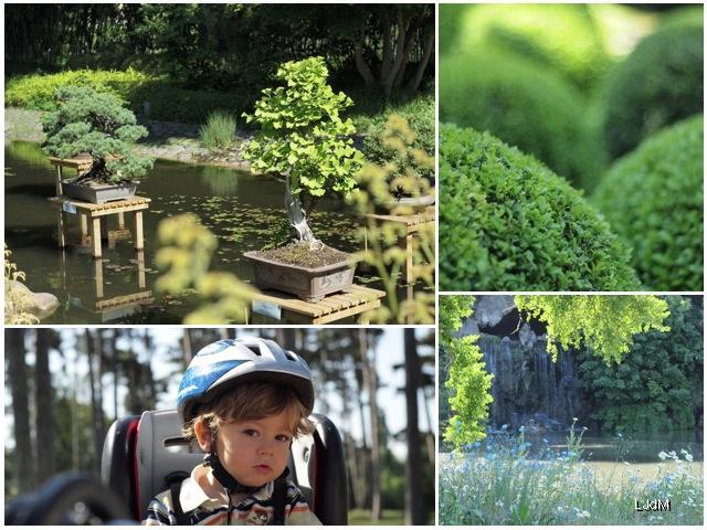Balade en vélo au Bois de Boulogne et Jardins Albert Kahn