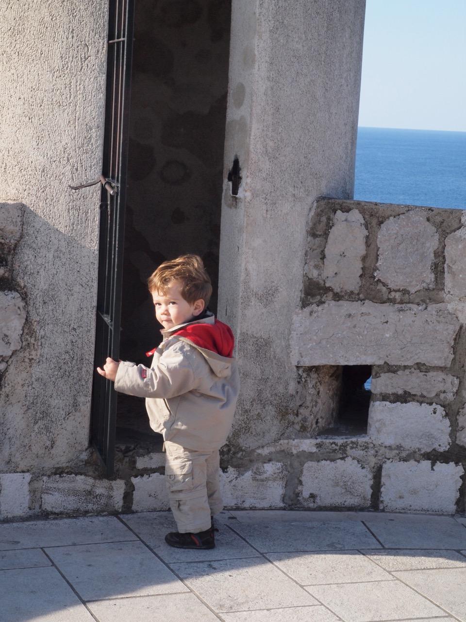 Dubrovnik avec bébé
