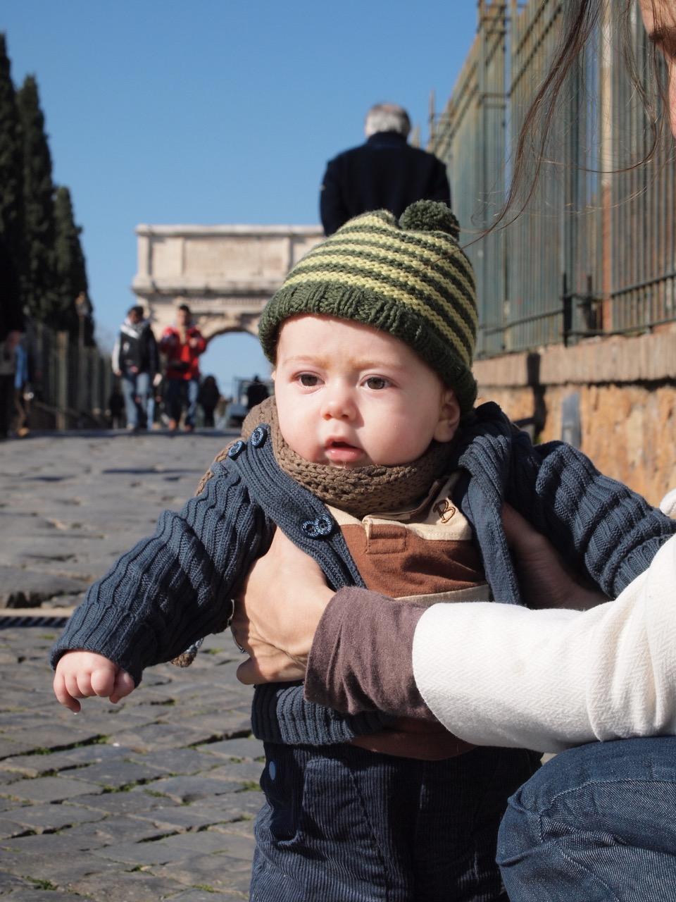 Rome avec bébé