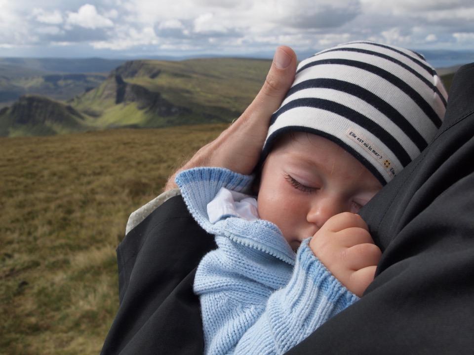 l'Ecosse avec bébé