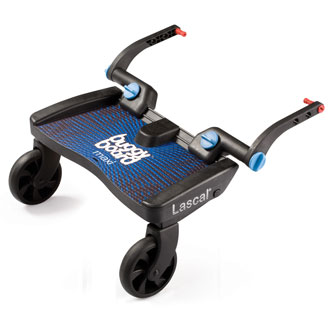 Balade en poussette avec le Buggy Board Maxi