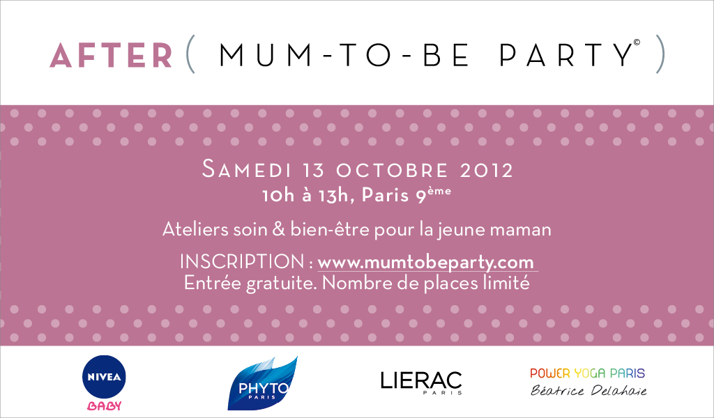 Vive l'After Mum-to-be Party !