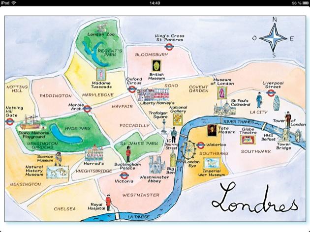 Appli iPad & eBook pour les petits : destination Londres !