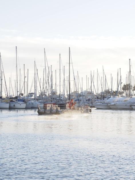 Cannes et son soleil hivernal