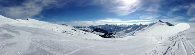 panoramique ski