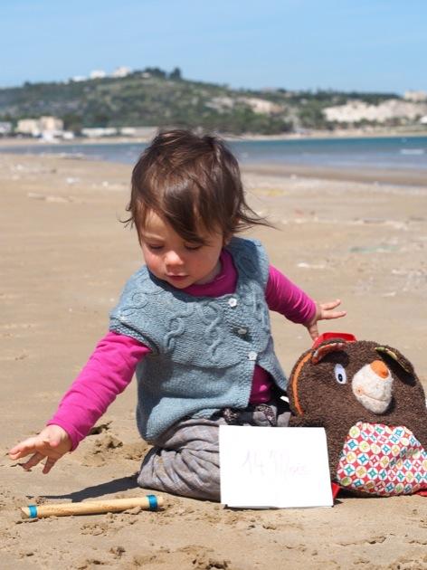 Titpuce a fêté ses 14 mois sous le soleil d'Italie