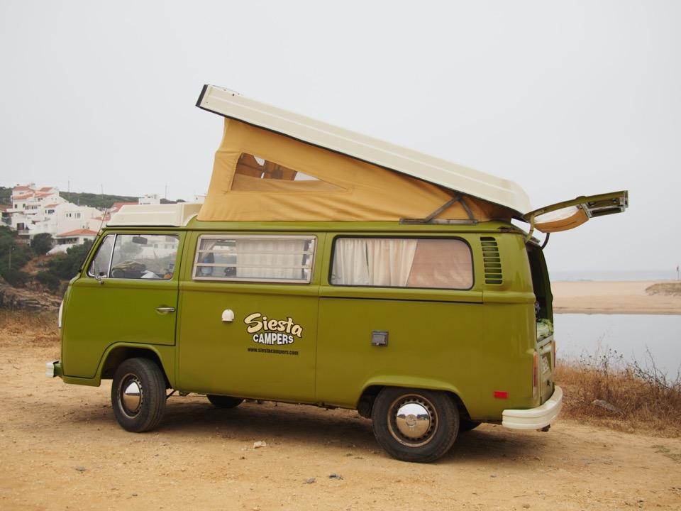 Algarve en combi VW