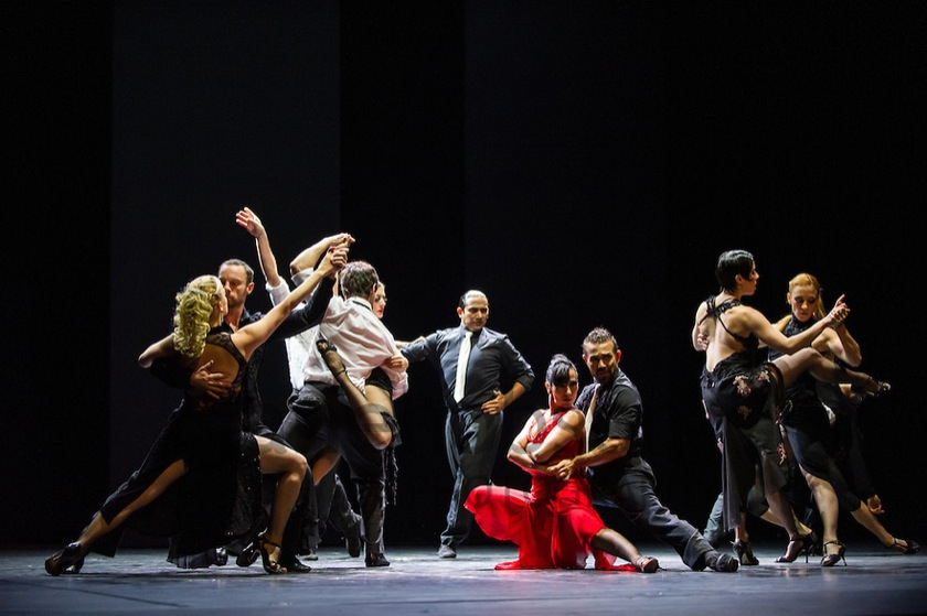 Milonga, Sidi Larbi Cherkaoui, Sadler's Wells, London, UK.