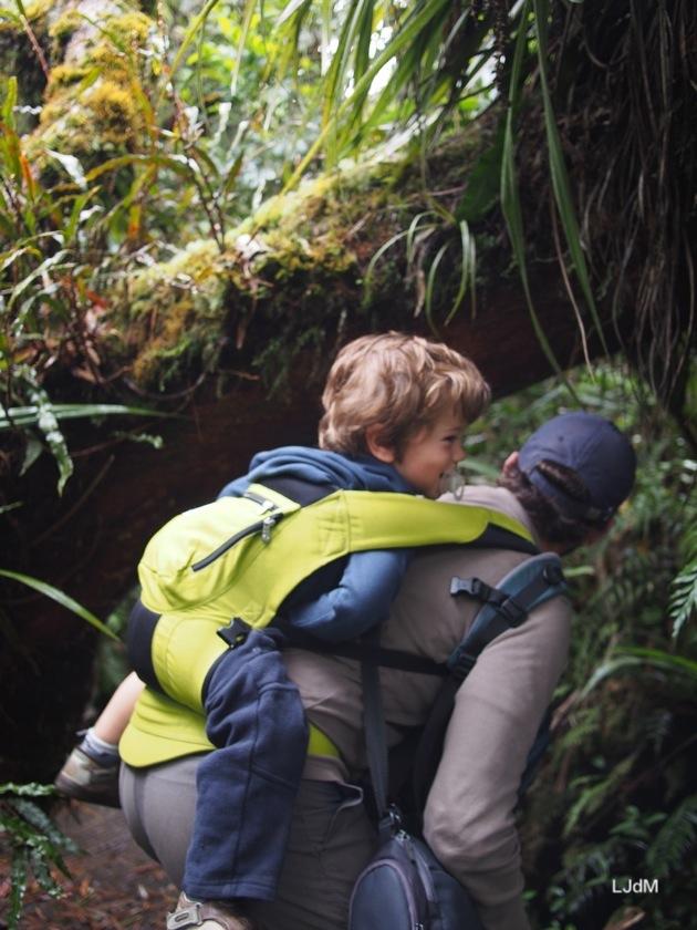 Partir en randonnée avec de jeunes enfants