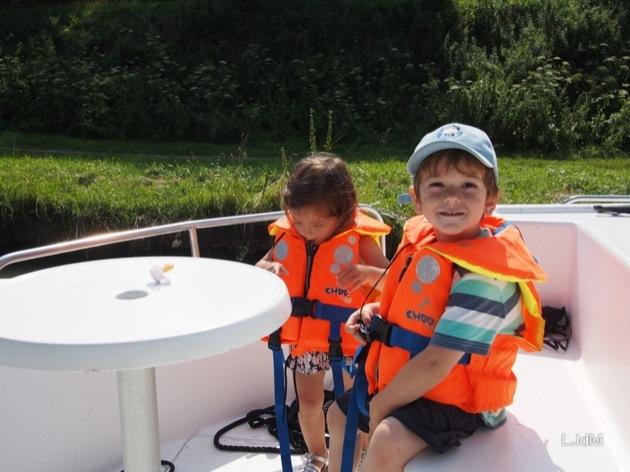 Tout sur notre balade fluviale avec les enfants