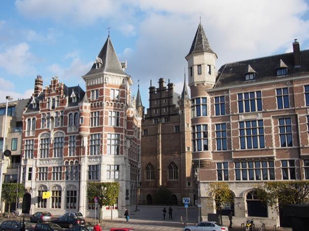 Balade en famille à Anvers