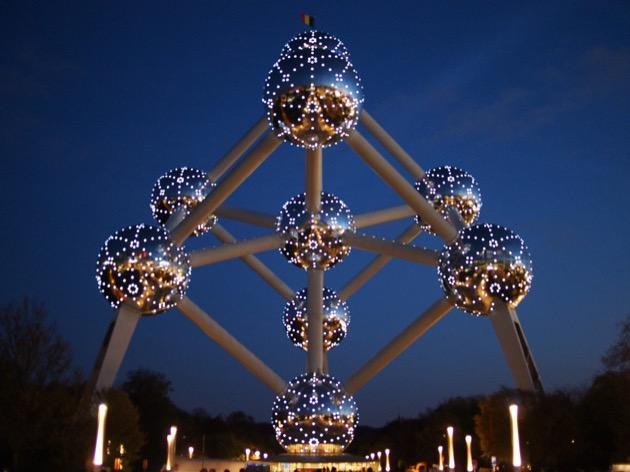 L'Atomium à Bruxelles