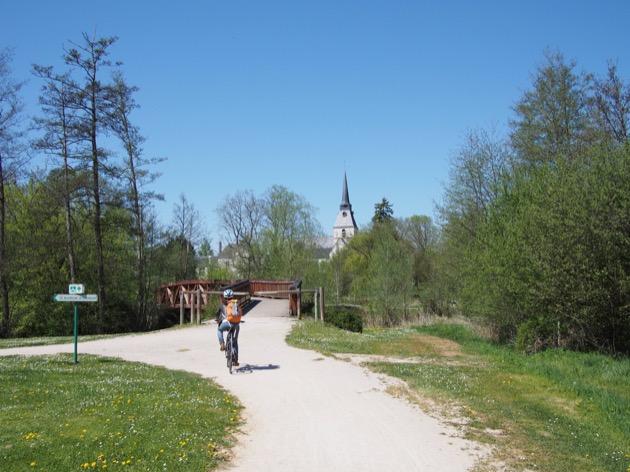 Escapade à vélo du côté de Cheverny