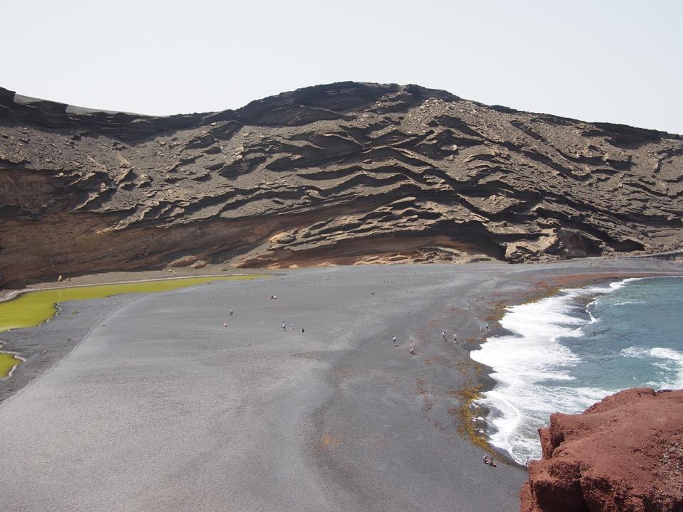 Plage de El Golfo Lanzarote