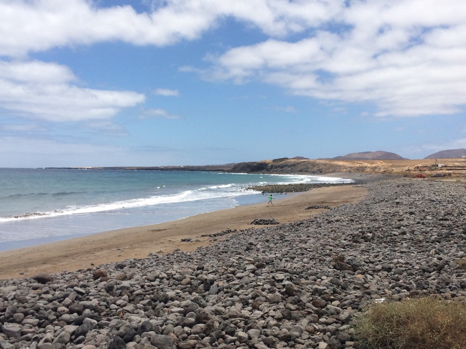 Plage de la Garita à Arrietta Lanzarote