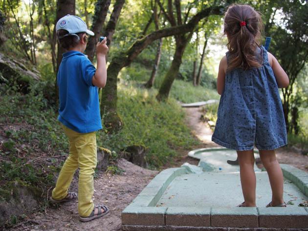 le mini-golf pour les enfants