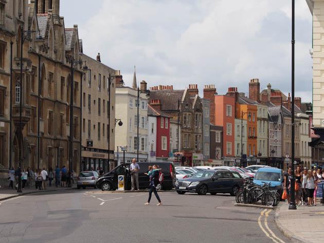 balade dans Oxford