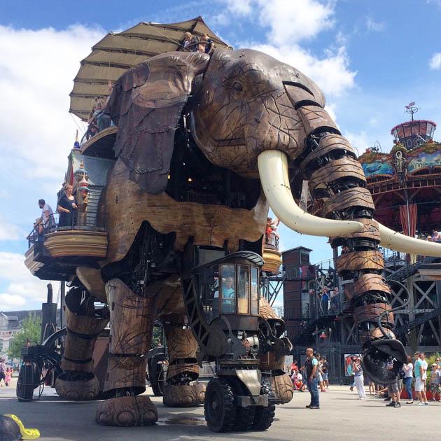 l'élaphant machine de Nantes