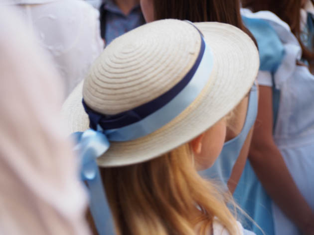 chapeau Alice aux Pays des Merveilles