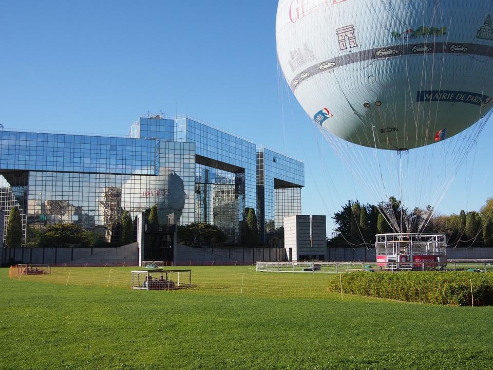 Ballon Parc André Citroën