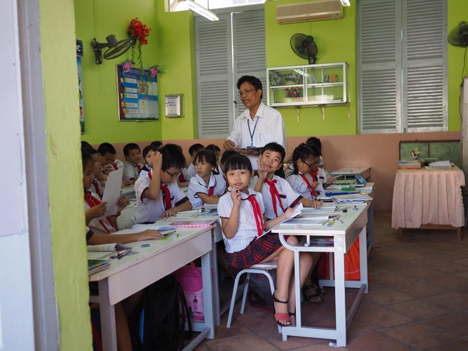 école au Vietnam