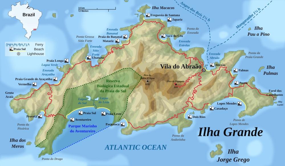 Brésil ilha grande