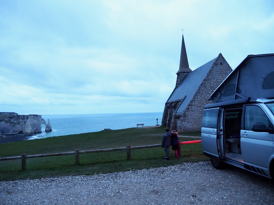 normandie en campervan