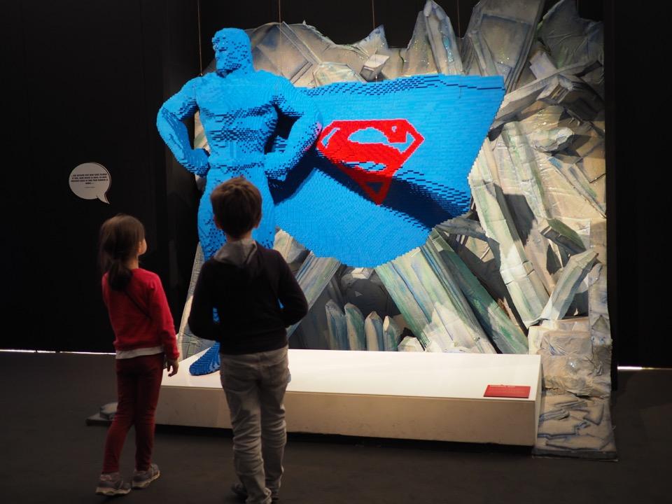 expo Lego super héros DC
