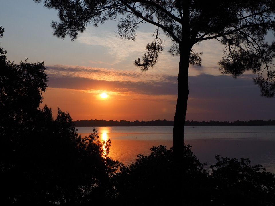 coucher de soleil Golfe du Morbihan