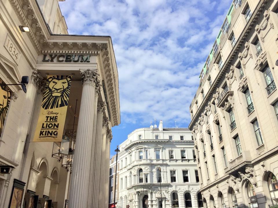 voir le roi lion à Londres