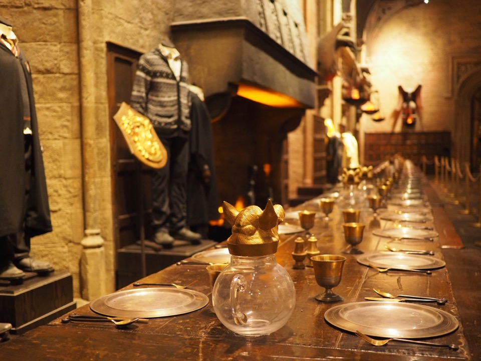Grand Hall Harry Potter