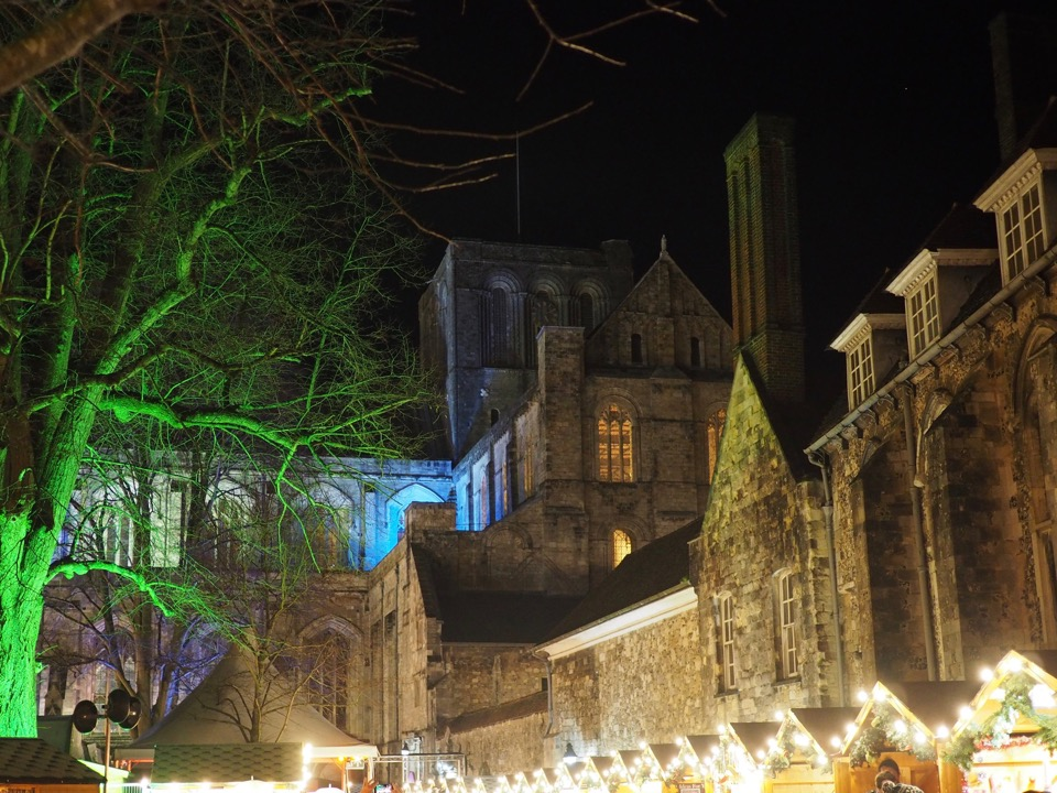 marché de Noël Winchester