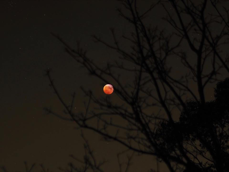 éclipse lunaire 2019