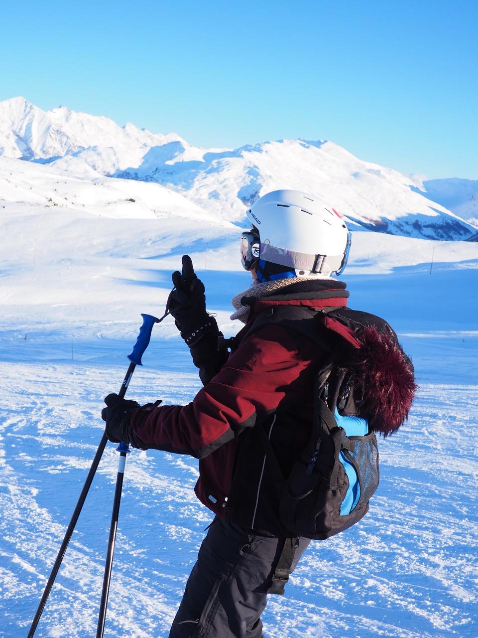 ski maman solo