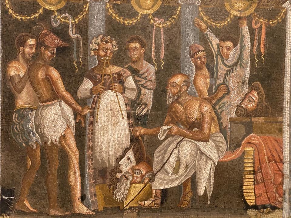 mosaique pompei