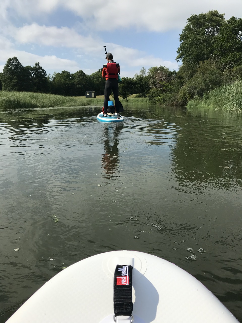 stand up paddle red