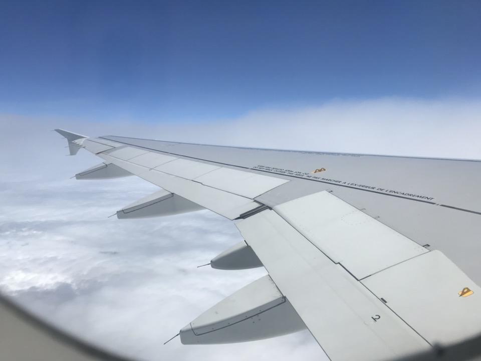 masque dans avion