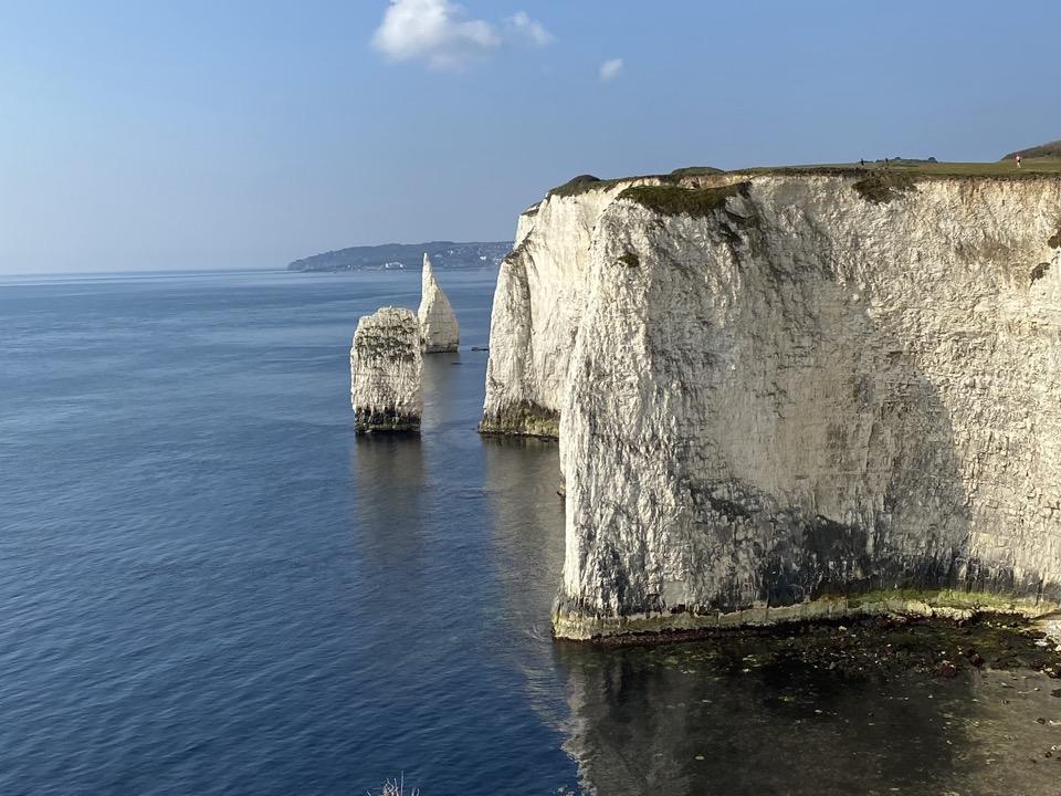 old harry rocks pinnacles