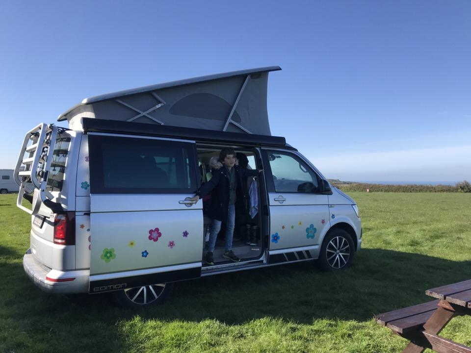 campervan en Angleterre