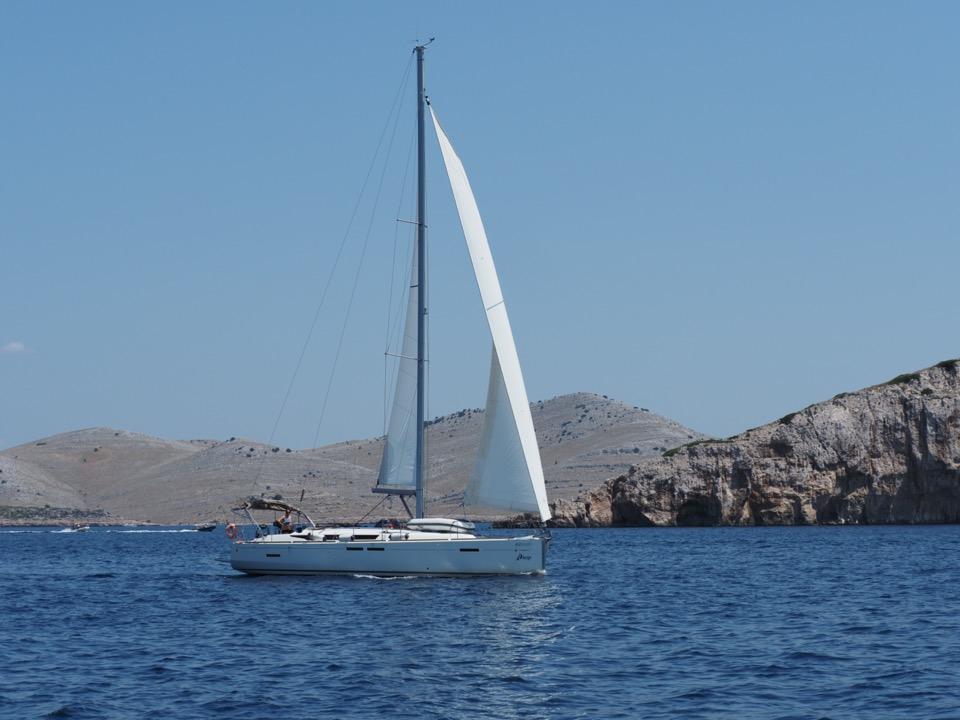 Iles Kornati en voilier