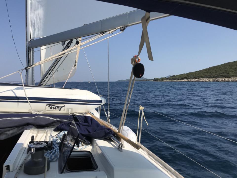 itineraire voilier en croatie